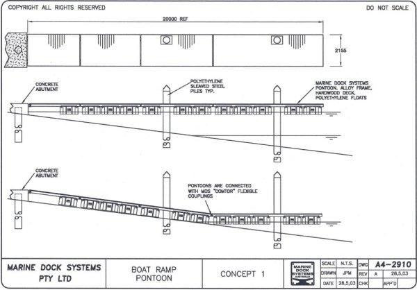 Boat Dock Construction Plans